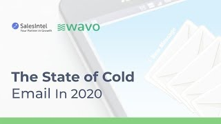 Webinar Recap: The State of Cold Email in 2020