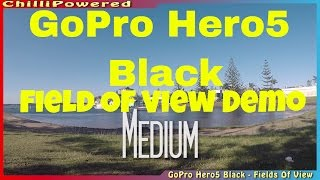 A quick overview of the GoPro Hero 5 Black cameras different field ...