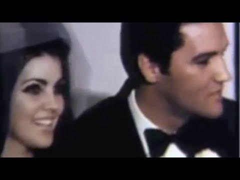 Elvis Presley & Priscilla Presley Wedding 💍 Classic Hollywood