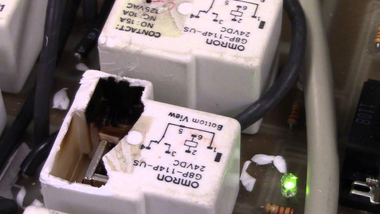 Peculiar SPDT relay failure mode YouTube