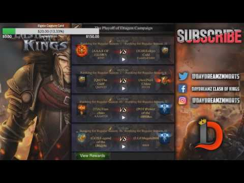 DRAGON CAMPAIGN FINAL 8 PLAYOFFS - STREAMING ALL MATCHES - Clash of Kings