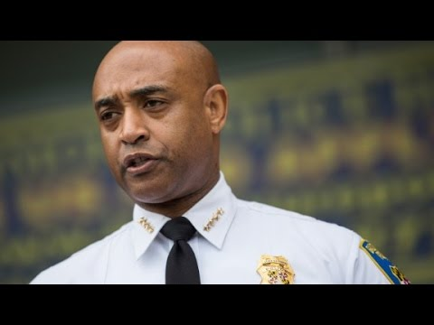 Baltimore police commissioner 'shocked' by charges - YouTube