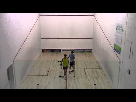 2014 Barbados Veterans Nationals Squash Finals (Over 35s)  - Gill vs Gilkes