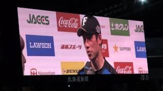2016年4月19日、札幌ドームでの北海道日本ハムファイターズ公式戦はファ...