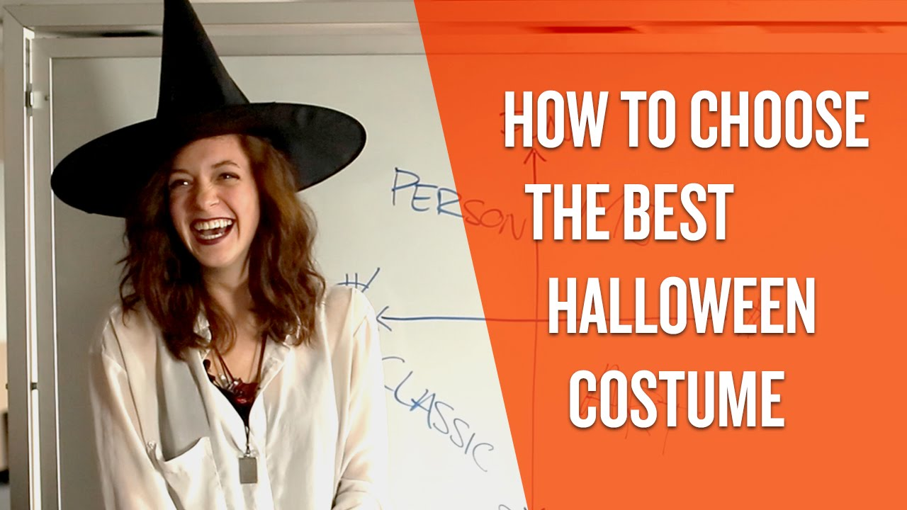 how to choose the best halloween costume for you - youtube