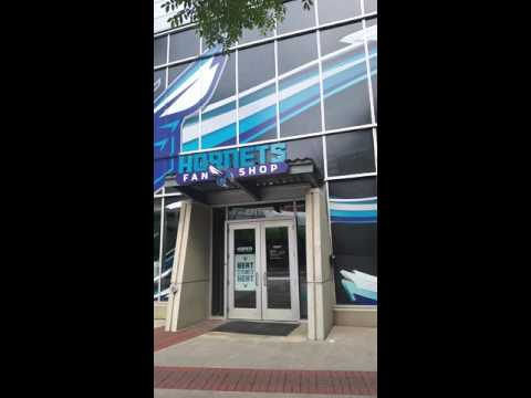 Time Warner Cable arena, home of the Charlotte Hornets