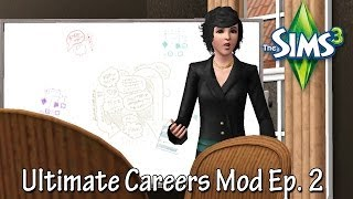 The Sims 3 - Ultimate Careers Mod (Journalism)