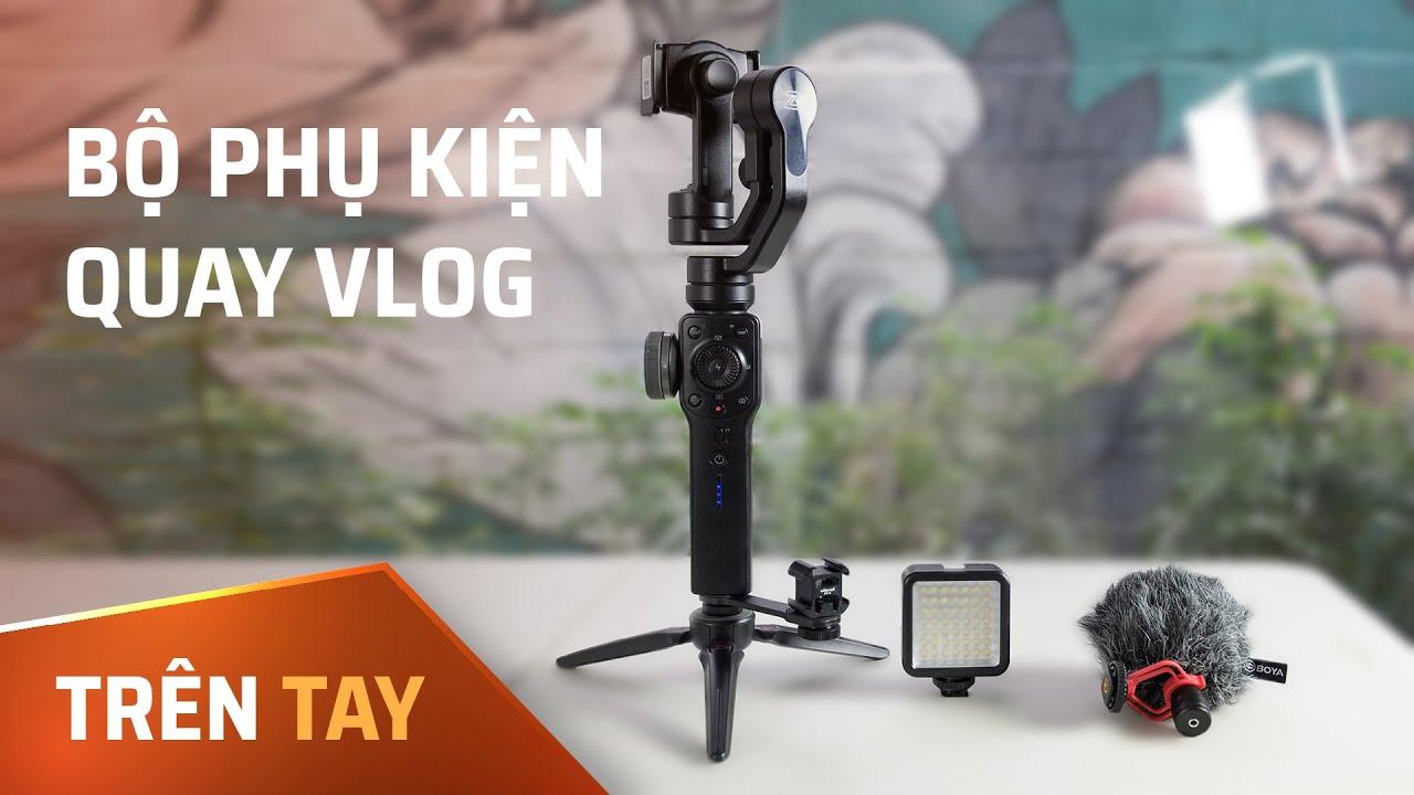 Combo phụ kiện quay Vlog bằng điện thoại