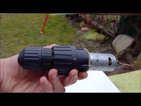 Drill HACK 1 - Drill Press With Cordless Drill Motor - DIY