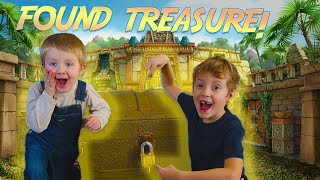 We Found A Locked Treasure Chest From Mr. E!