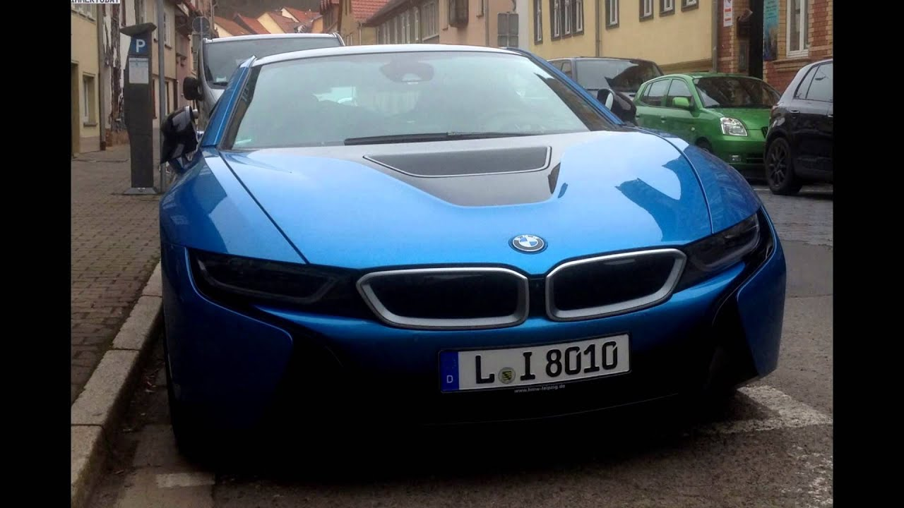 2016 Bmw I8 Protonic Blue Metallic Youtube