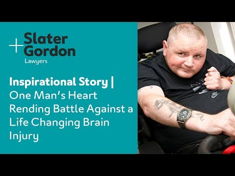 Inspirational Story  One Man's Heart Rending Battle Against a Life Changing Brain Injury