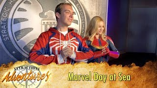 Marvel Day at Sea on the Disney Magic Cruise - Attractions Adventures
