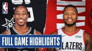SPURS at TRAIL BLAZERS   FULL GAME HIGHLIGHTS   February 6, 2020