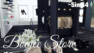 Sims 4 Speed Build | Boujee Store
