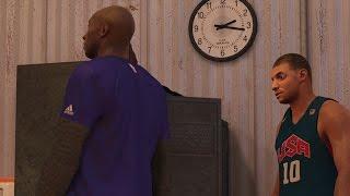 NBA 2K17 PS4 My Career - Kobe Visits!