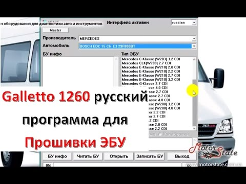 программа galletto 1260 rus скачать