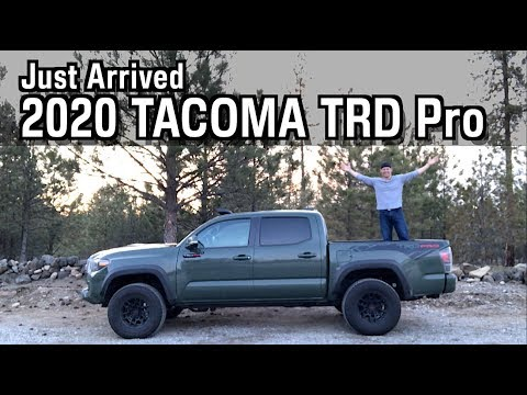 Just Arrived: 2020 Toyota Tacoma TRD Pro On Everyman Driver