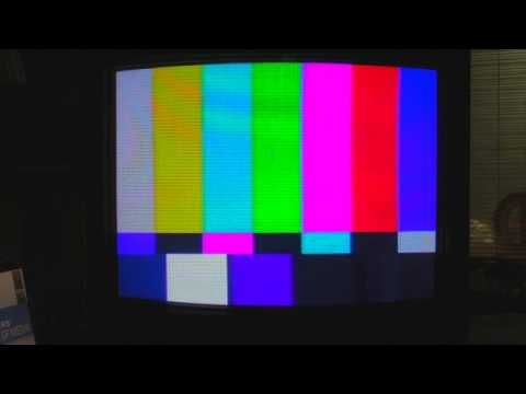 How To Set Up A Monitor With Colour Bars