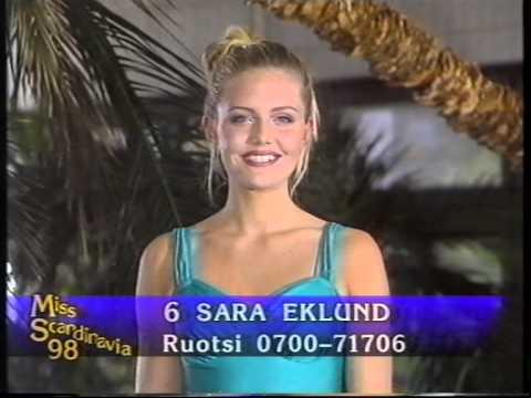 Miss Scandinavia 1998-Uimapukukierros