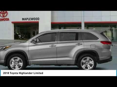 2018 Toyota Highlander Limited Maplewood, St Paul, Minneapolis, Brooklyn Park, MN J13016