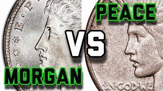Peace Dollar vs Morgan Dollar