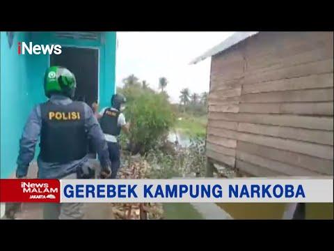 Detik-detik Penggerebekan Kampung Narkoba di Palembang, Sumatra Selatan #iNewsMalam 13/07