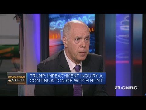 Trump impeachment inquiry is bad news for Joe Biden, academic says | Squawk Box Europe