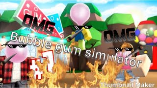 Roblox bubble gum sim Candy UPDATE