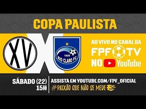 XV de Piracicaba 1 x 2 Rio Claro - Copa Paulista 2018