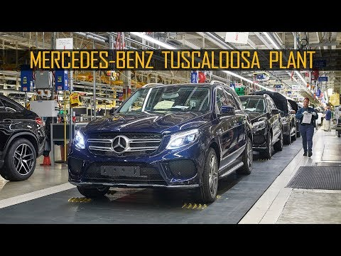 Mercedes-Benz Production at the Tuscaloosa Plant, Alabama