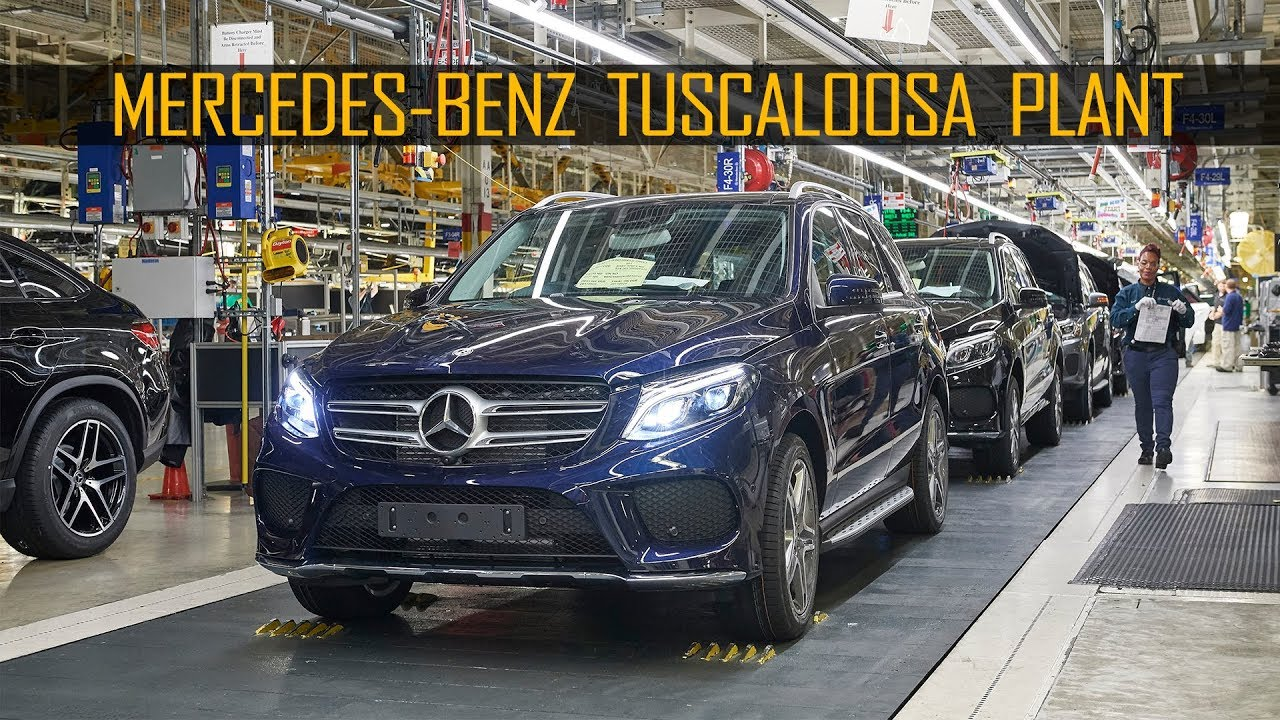 Mercedes Benz Production At The Tuscaloosa Plant, Alabama