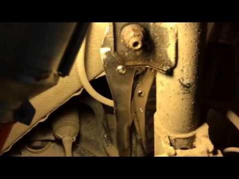 Замена стоек стабилизатора Nissan X trail T 31