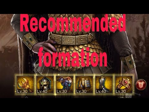 ClashOfKings:Recommended Formation! 4-Archangel 2-Queen Set(Helmet&Boot)Best Hero|Sets|Weapon|Armors