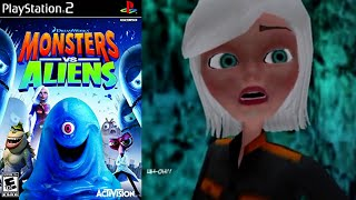 Monsters Vs. Aliens [13] PS2 Longplay