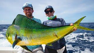 Deep Sea Fishing in Miami (Dolphin, Wahoo, Amberjacks, and Tripletail)