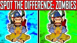 CAN YOU SPOT THE DIFFERENCE?? | Zombies Image Quiz #5 | w/ Pack a Puncher