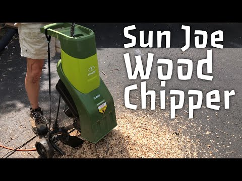 Sun Joe CJ601E 14-Amp Electric Wood Chipper Shredder Review