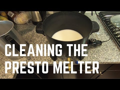 How To Clean Your Presto Wax Melter For New Wax