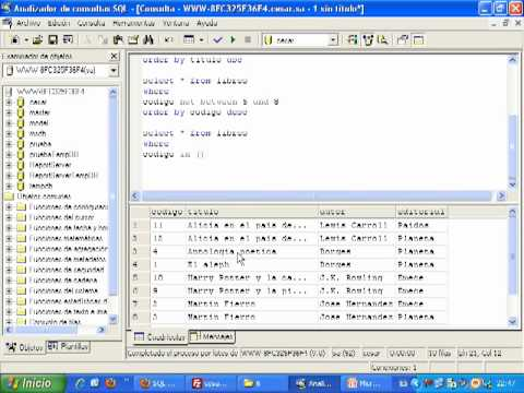 Videotutorial 15 ASP y SQL Server