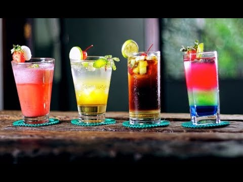 College Bar Drink Making