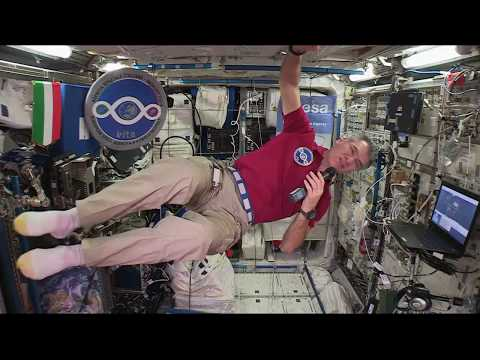 Space Station Crew Member Discusses Life in Space with Italian Prime Minister