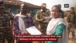Police initiate doorstep delivery of documents for tribals in Maoist-hit Gadchiroli