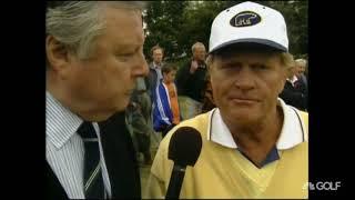 Jack Nicklaus Vs Gary Player At Sunningdale Golf Club Pt. 1