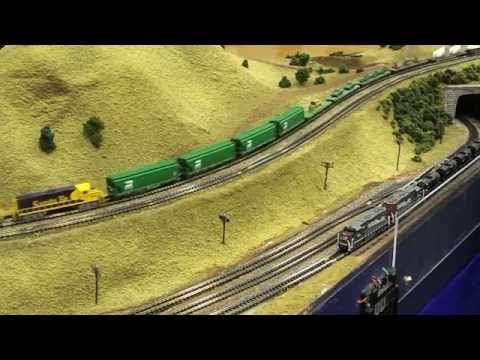Liberty National Z Scale Model Train Layout