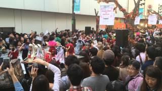 """2014年10月26日に新宿で開催された """"サイコブレイク × 土屋アンナ Prese..."""
