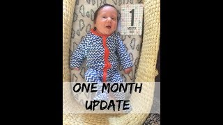 One Month Baby And Post Partum Update (After C Section)