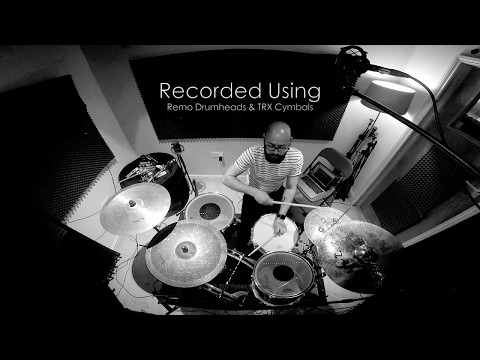 Forbes Coleman - Pre-Production Drums using the Glyn Johns Mic Technique