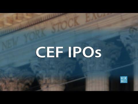 CEF IPOs