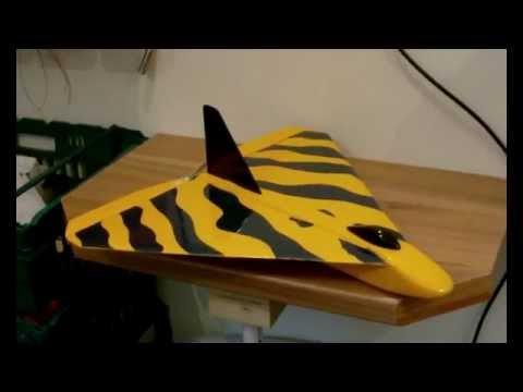 rc plane pirate balsa delta jet maiden flight fast youtube. Black Bedroom Furniture Sets. Home Design Ideas